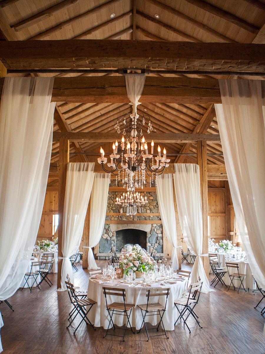 Elegant Destination Outdoor Mountain Wedding Making a