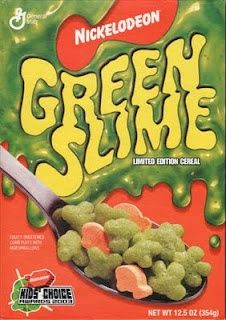 Image result for green slime cereal 90s