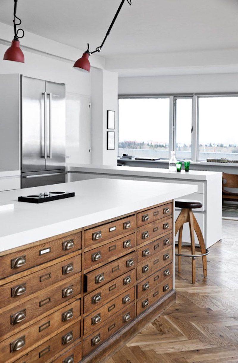 Make it your style kitchen island alternatives using repurposed