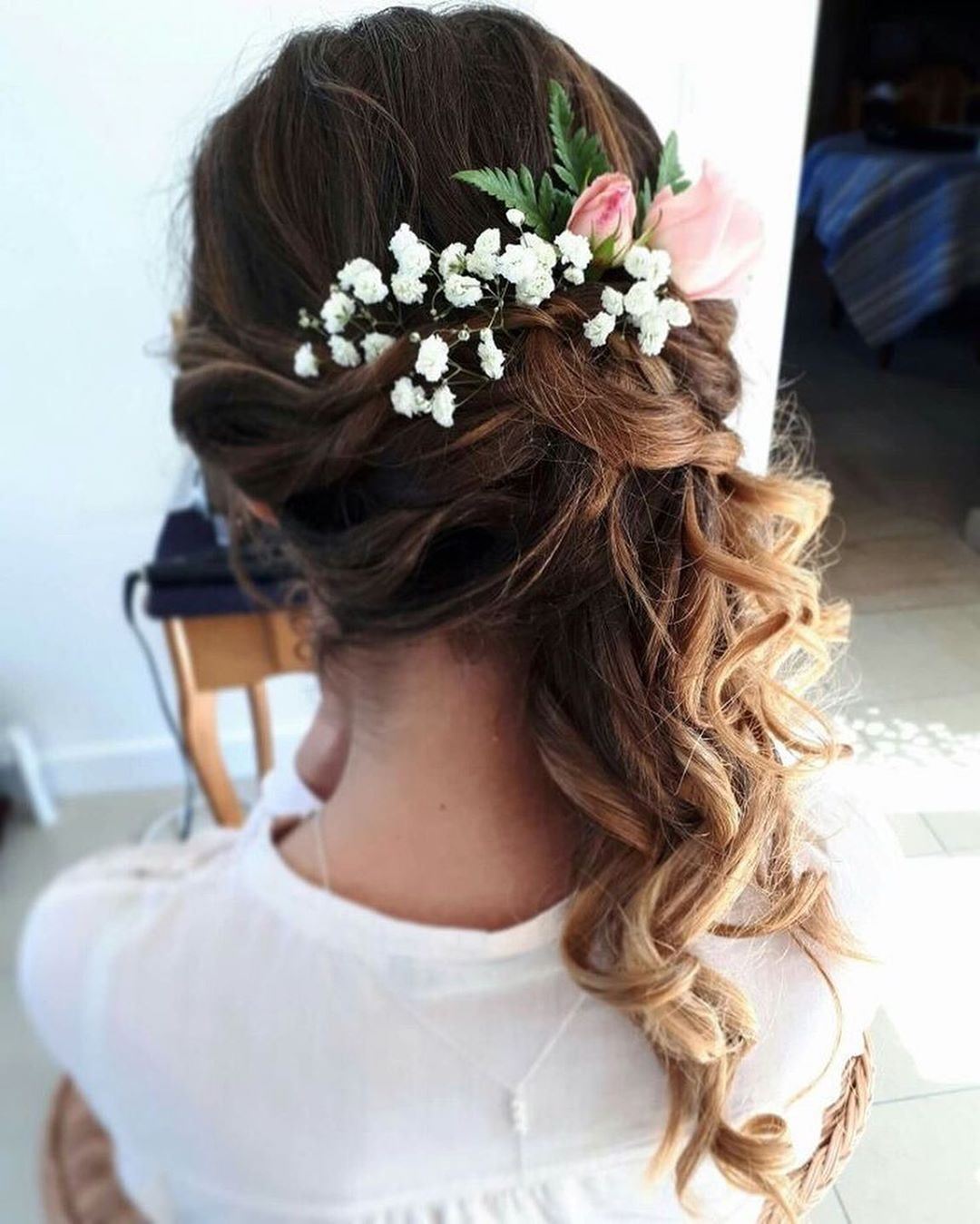20 wedding hairstyles within flowers for bride