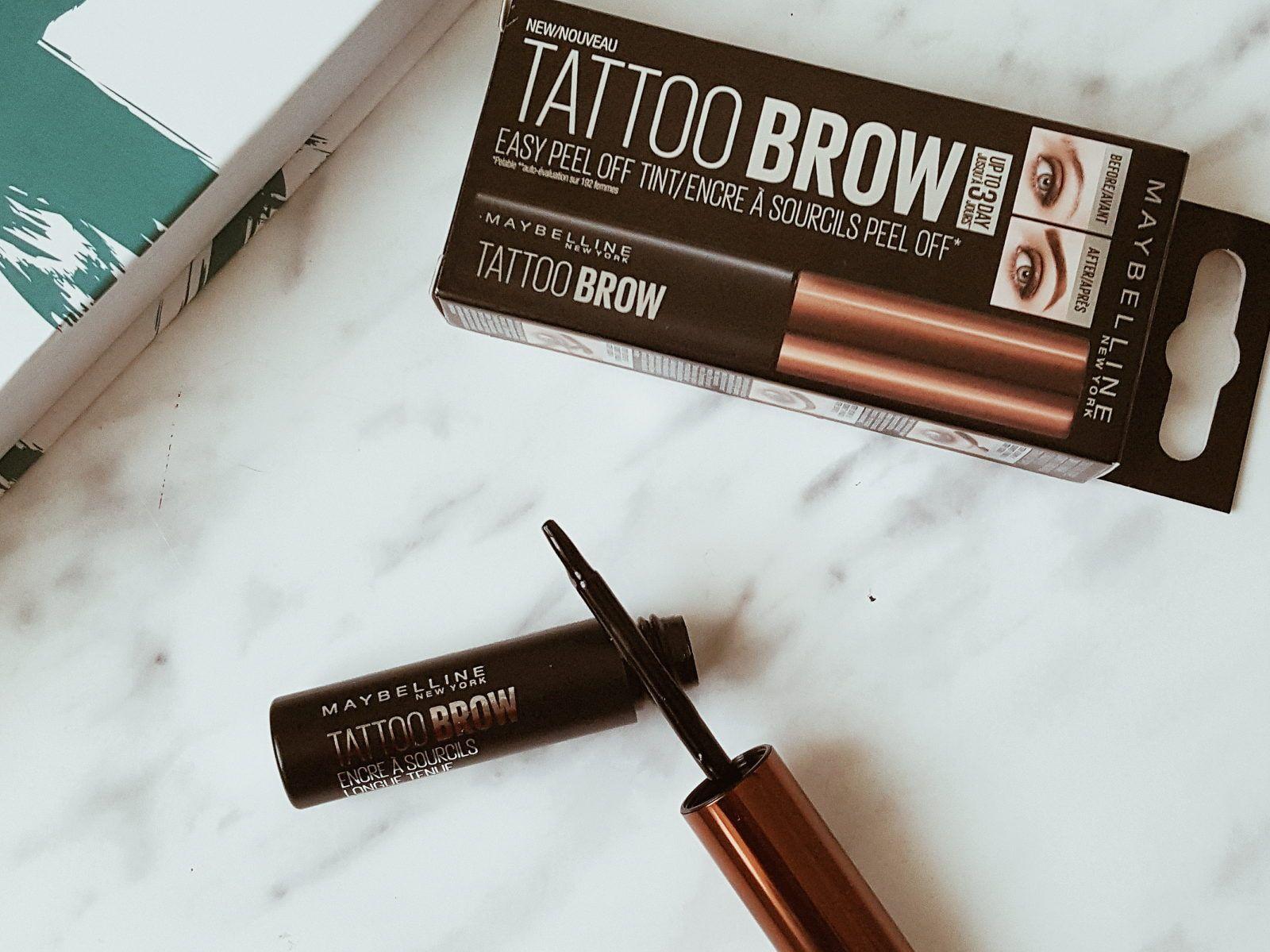 Brow Tattoo colorează sprâncenele pentru 35 zile