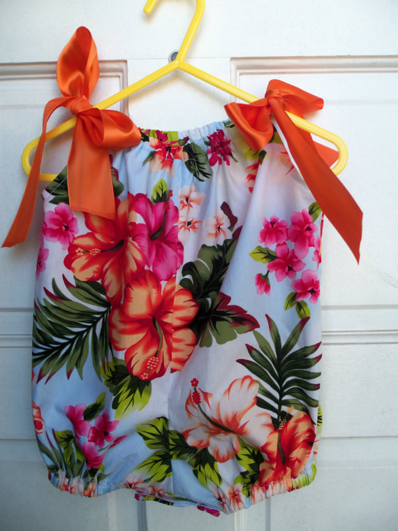 37941fb0e Hawaiian, Infant Romper, Baby Romper, Bubble Romper, Baby Clothes ...