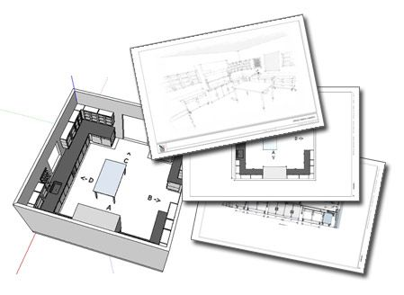 Pin By Ivan On Web 2 0 Sketchup Model Layout Architecture Program