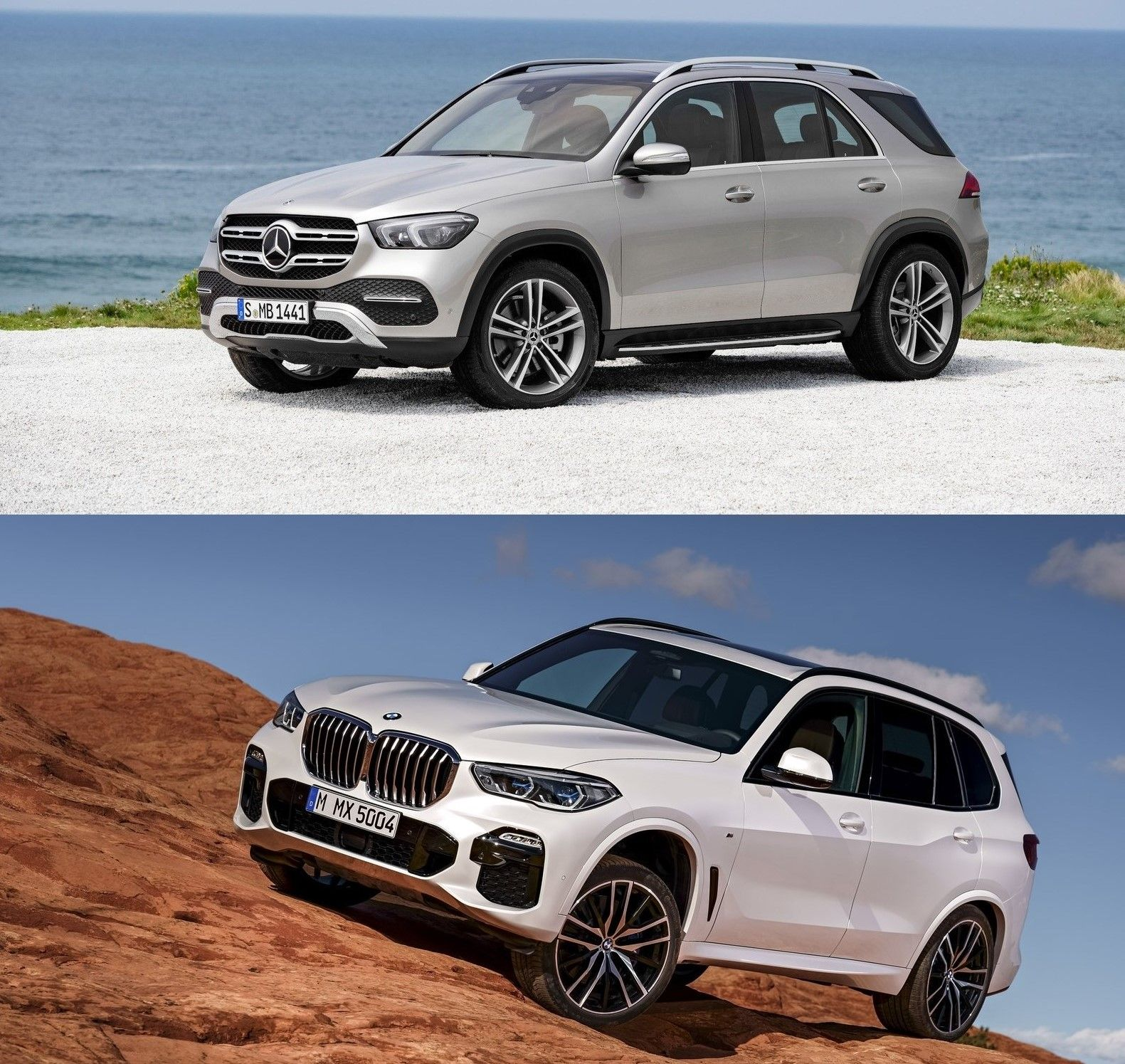 2020 Mercedes Gle 450 Vs 2020 Bmw X5