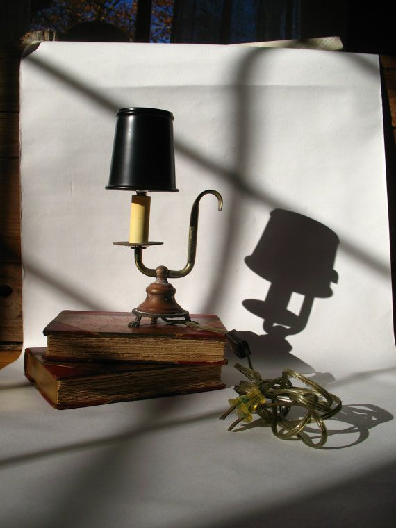 Vintage Lamp Neo Classical Student Style by GentlemanlyPursuits