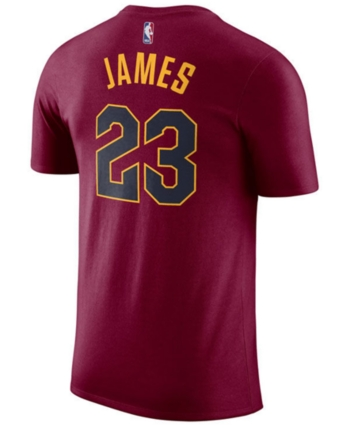 a1cfa6ca8bd1 Nike Men s Lebron James Cleveland Cavaliers Name   Number Player T-Shirt -  Red XXL