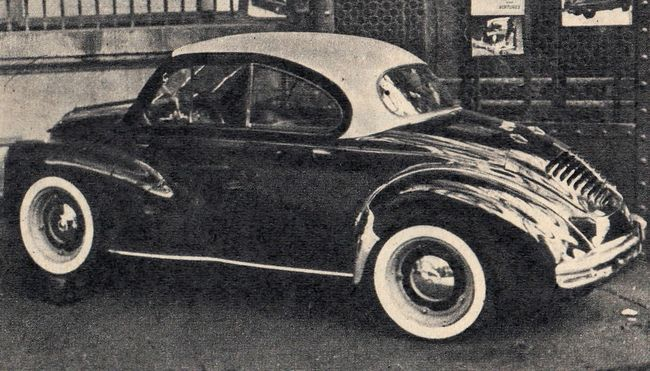 Pichon Parat Renault 4cv Coupe Voitures Anciennes Voitures Retro Voiture Vintage