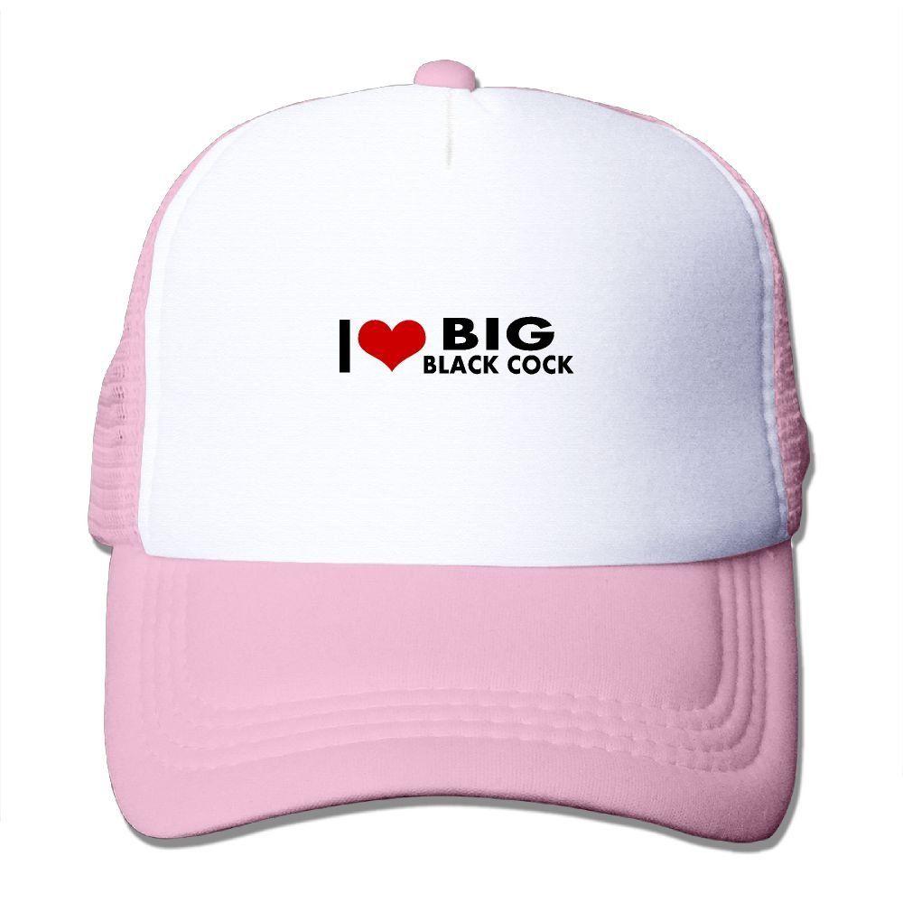 f9b6ca39e8f64 Adult I Love Big Black Cock The Adjustable Snapback Mesh Hat. 100% Nylon  Mesh