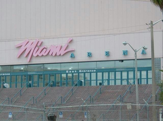 Image result for miami arena old