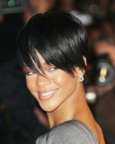 Rihanna nouvelle coupe de cheveux courts | coupe de cheveux ...