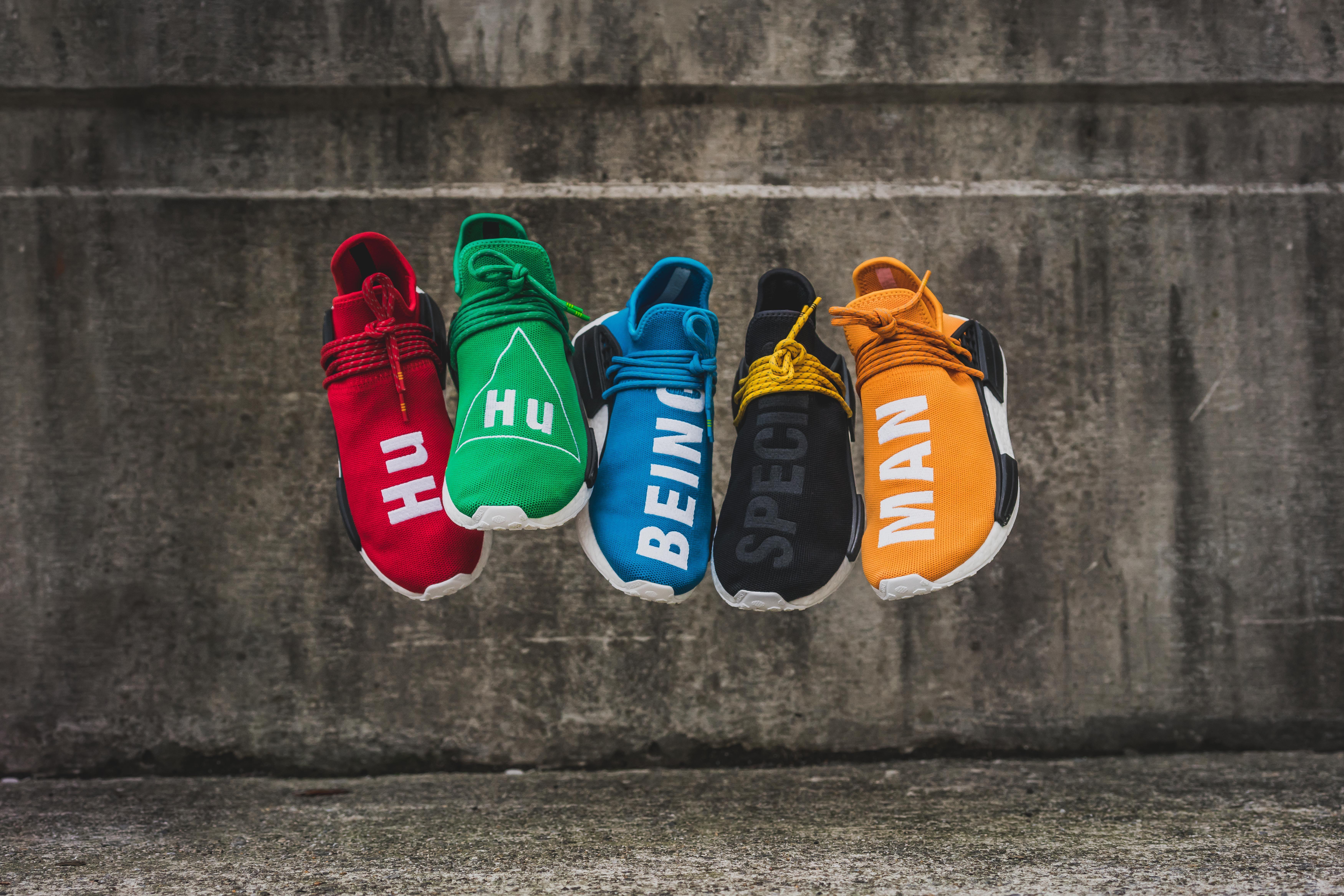 4c45171345ab0 Pharrell x adidas NMD Human Race