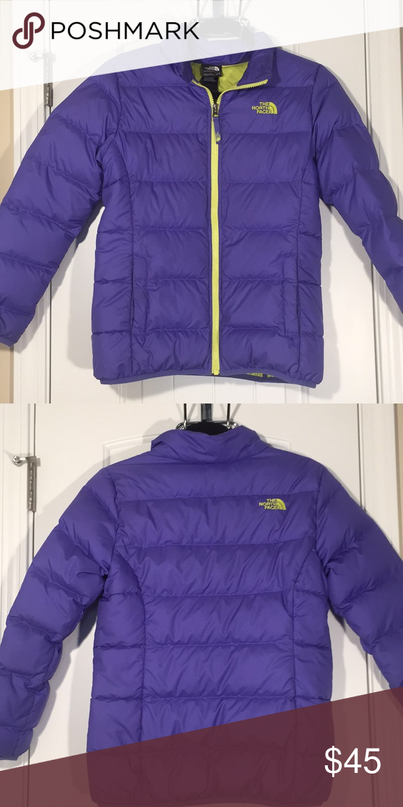 1fbab465ca Girls Sz L 14 16 The North Face Puffer Coat Excellent Condition Like New The
