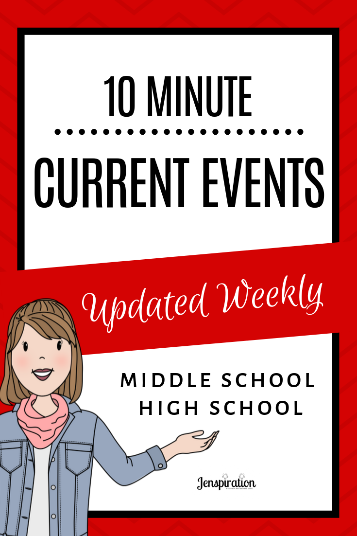 Inspiration For Your Classroom Engage Your Middle And High School