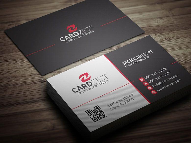 Download Http Cardzest Com Modern Contemporary Business Card Template Modern Sample Business Cards Free Business Card Templates Business Cards Collection