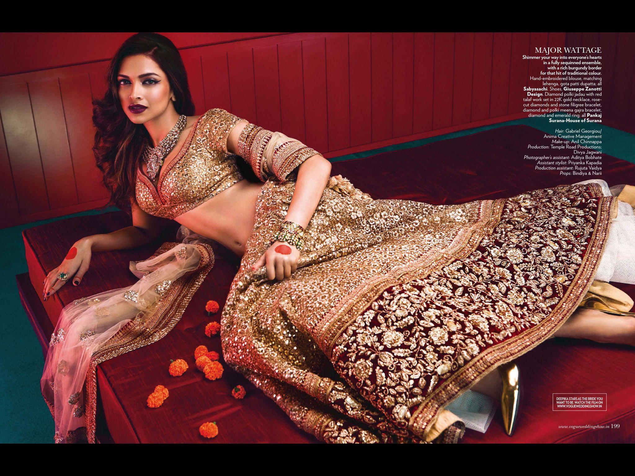 Deepika Vogue 2014