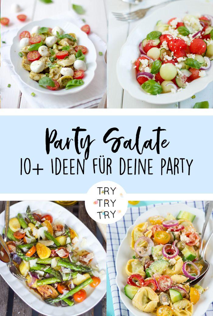 Party-Salate - leckere und schnelle Ideen #brunchideen