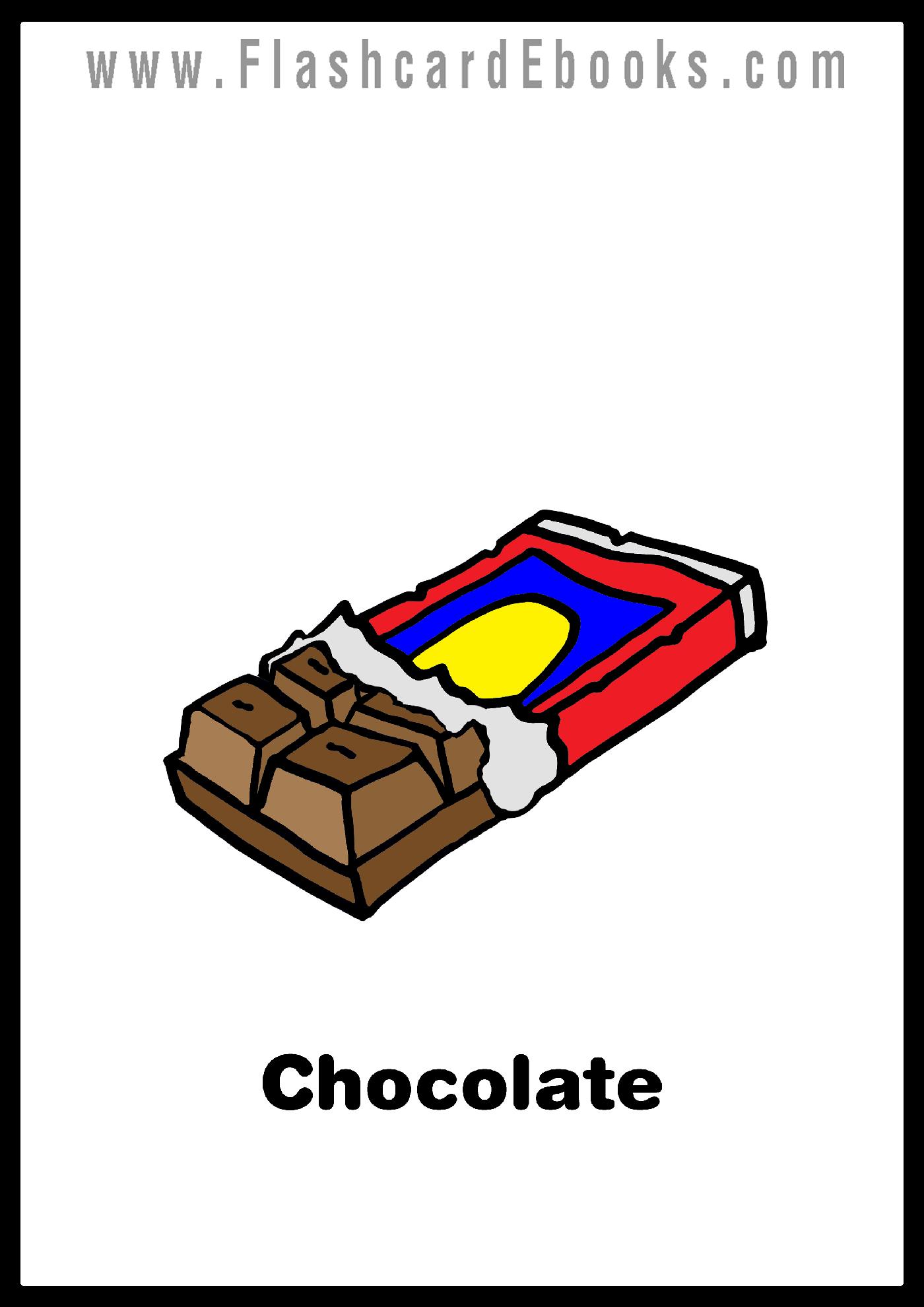 English Flashcard Kindle Chocolate