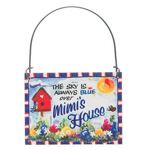 *The Sky is always blue over Mimi PawPaw /'s House  Gift MAGNET paw paw DecoWords