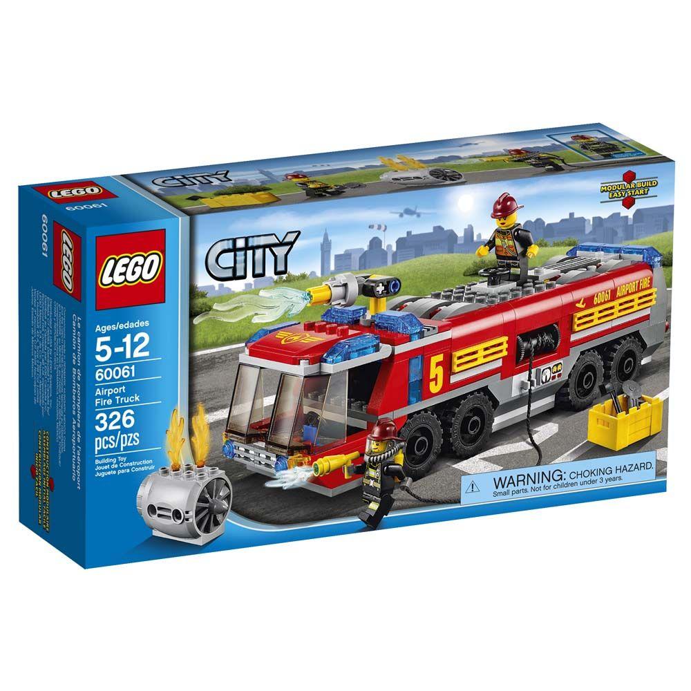 Aeroporto Lego : Lego city caminhao de combate ao fogo no aeroporto u pecas