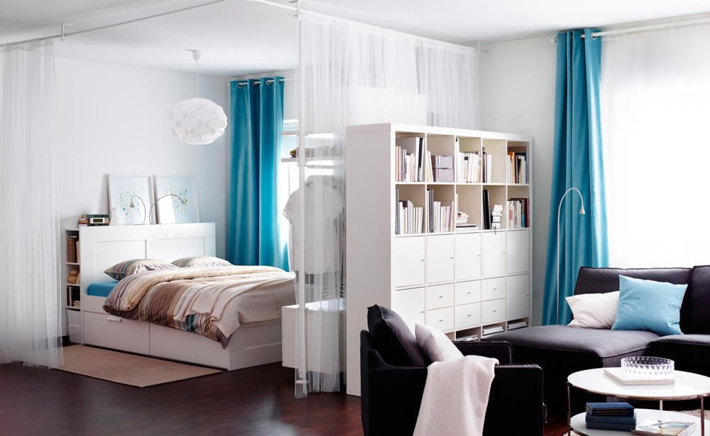 Vorhang Raumteiler Small Room Design Apartment Design