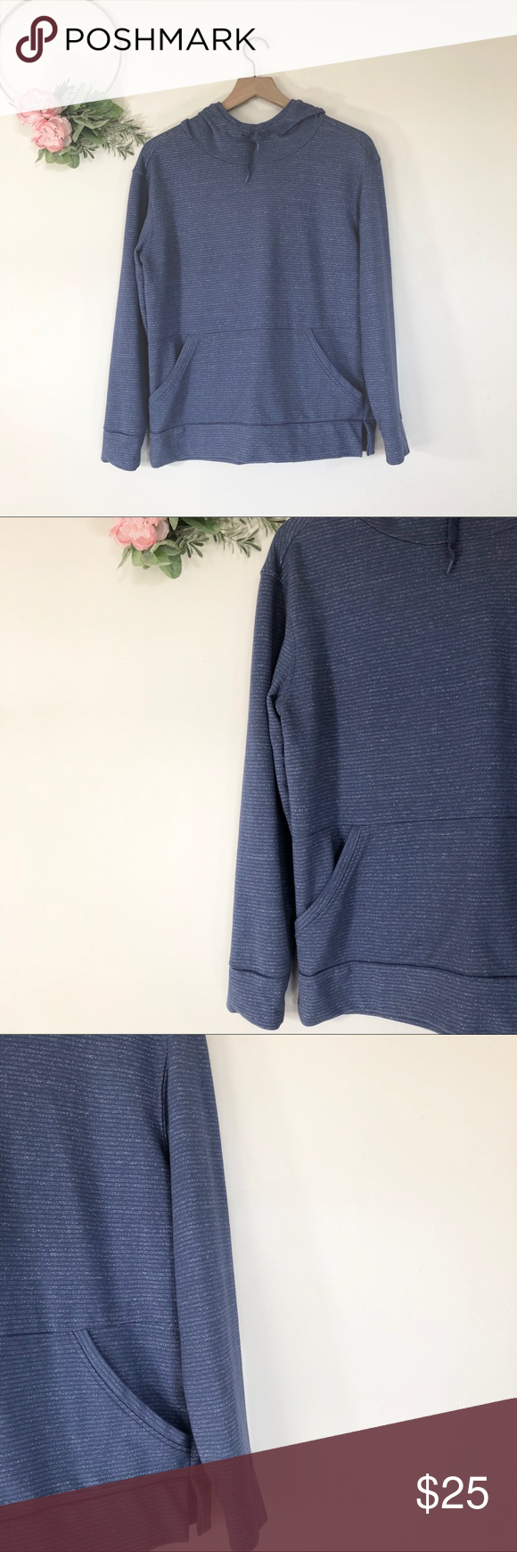 Champion Elite High Neck Striped Hoodie Excellent Condition Size Tag Is Coming Off But Does Not Affect Wear M Striped Hoodie Clothes Design Sweatshirt Tops [ 1740 x 580 Pixel ]