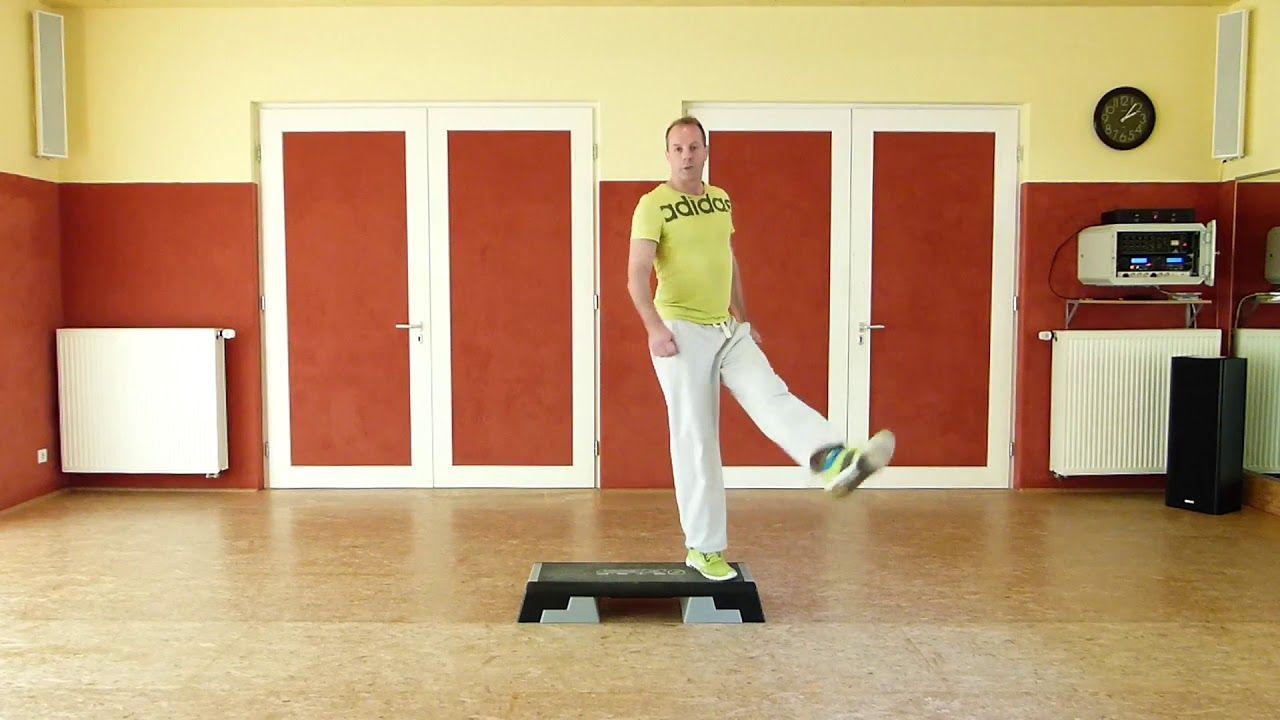 Step Aerobic Grundschritte Mit Schrittwechsel Aerobic Aerobic