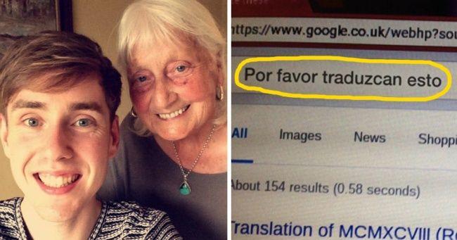 Abuela de86años envió aGoogle una petición tan inusual que laempresa lecontestó personalmente