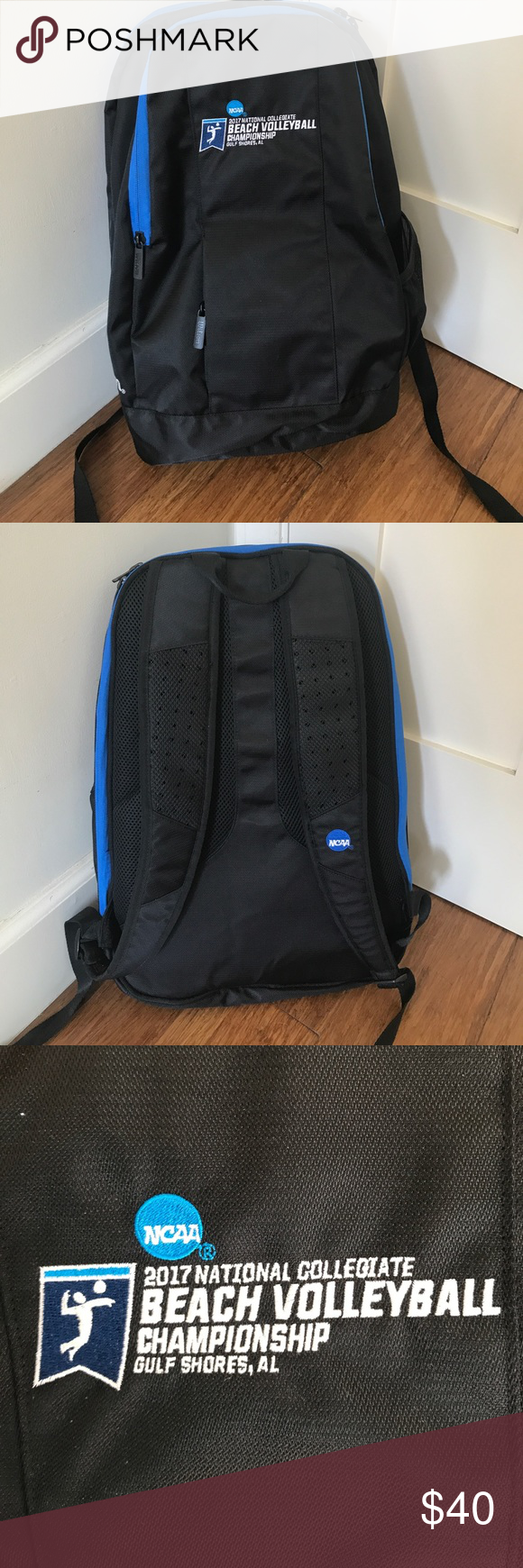 Ncaa Beach Volleyball Championship Backpack Euc Beach Volleyball Backpacks Volleyball
