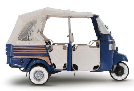 3 wheel vehicles / tuk tuks / trikes /personal vehicle | green