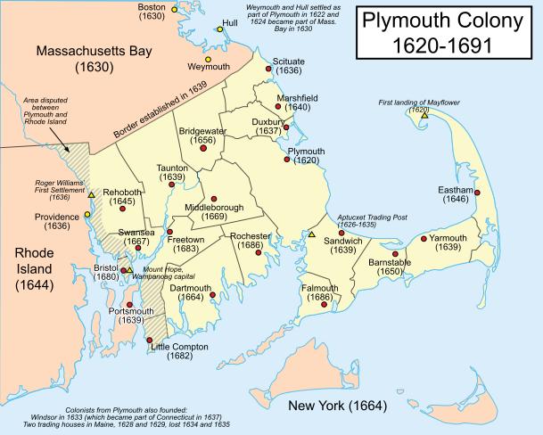 Plymouth massachusetts bay