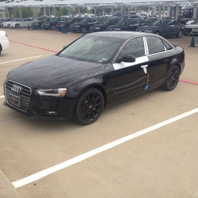 2013 Audi A4 With Black Wheels