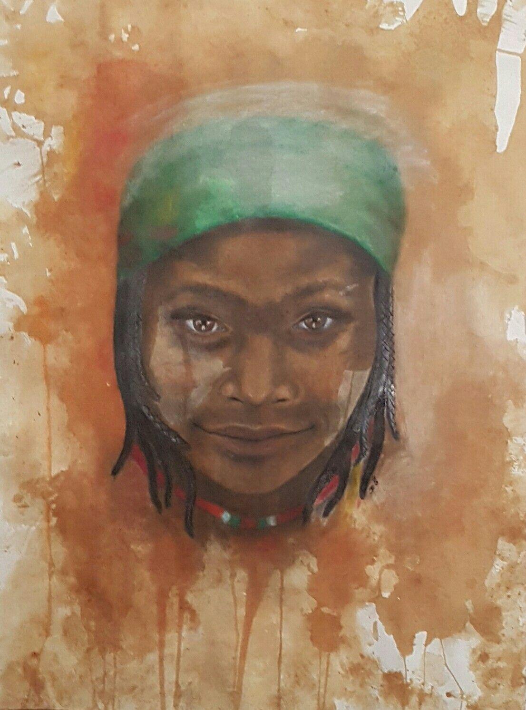 Portraiture art  by Jesamyn Reeves