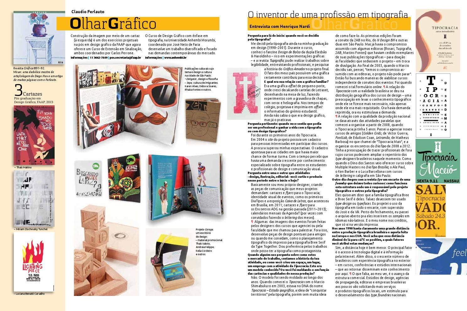 Olhar Gráfico Revista Abigraf #271