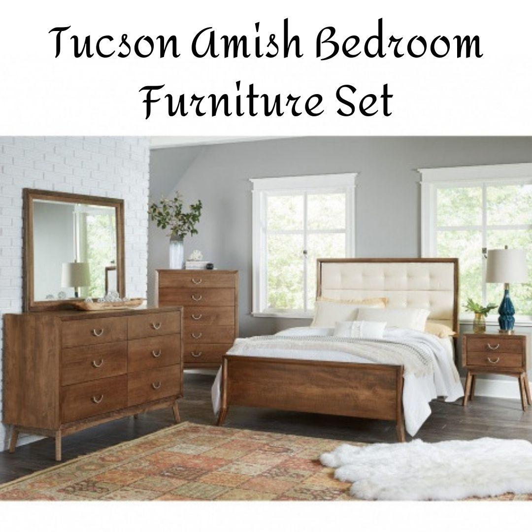 Tucson Amish Bedroom Furniture Set 7 692 00 Bedroom Furniture