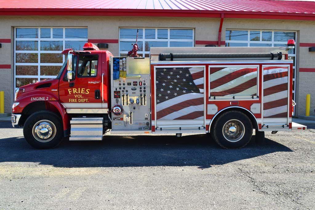 Fries Fire and Rescue (VA) 2007 International class A