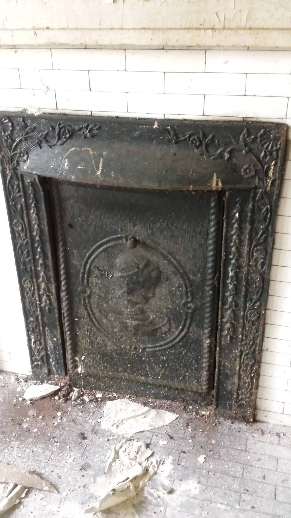 fender antique fireplace cottage tiles for andirons tree and the ash