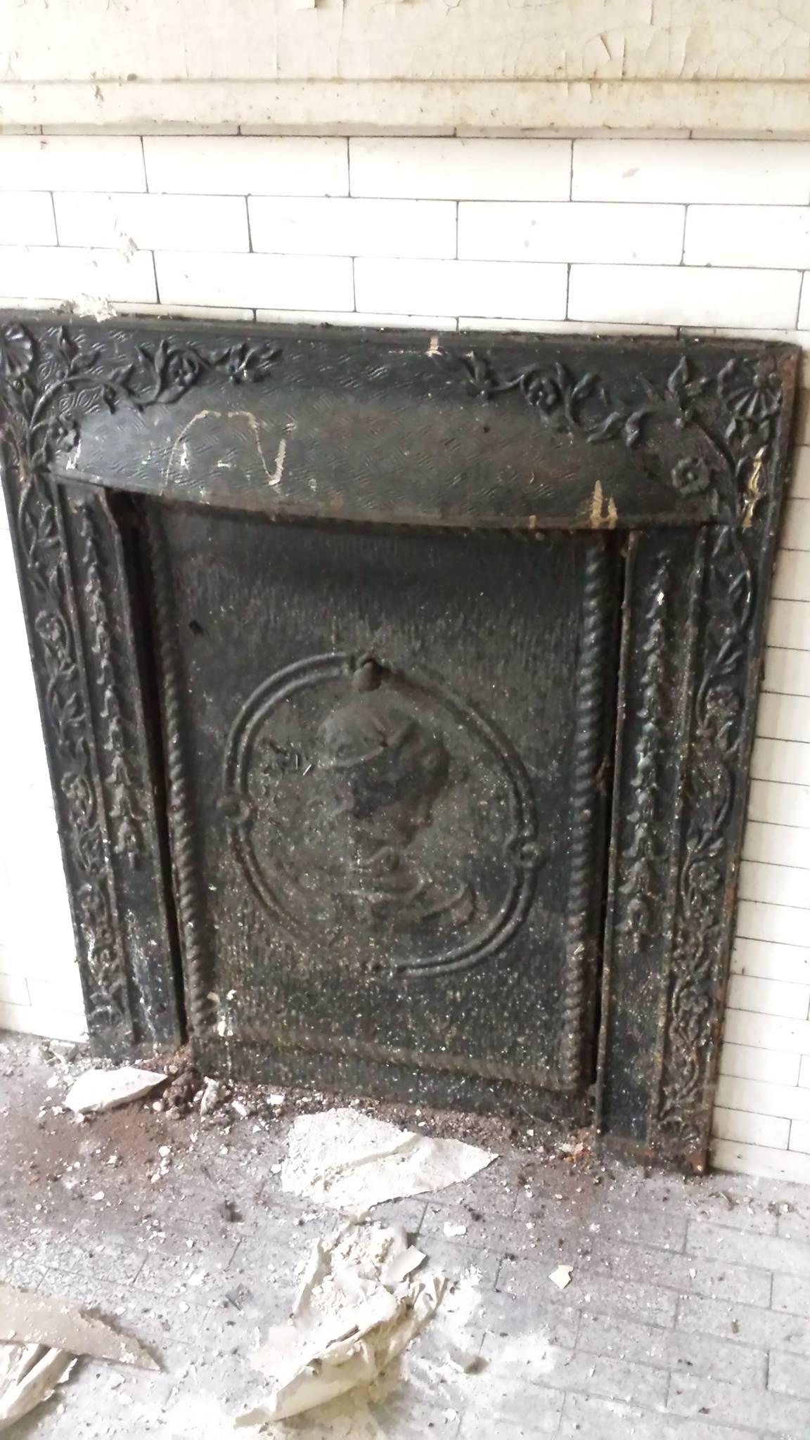 antique black ornamental fireplace fancy face great pin ideas tiles fireplaces