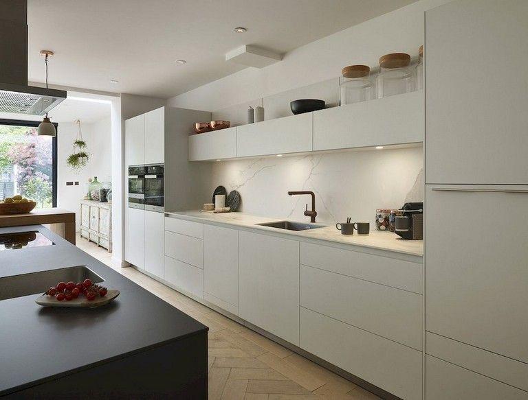 61 Top Sleek Contemporary Kitchen Designs Inspiration Contemporary Kitchen Contemporary Kitchen Design Modern Kitchen