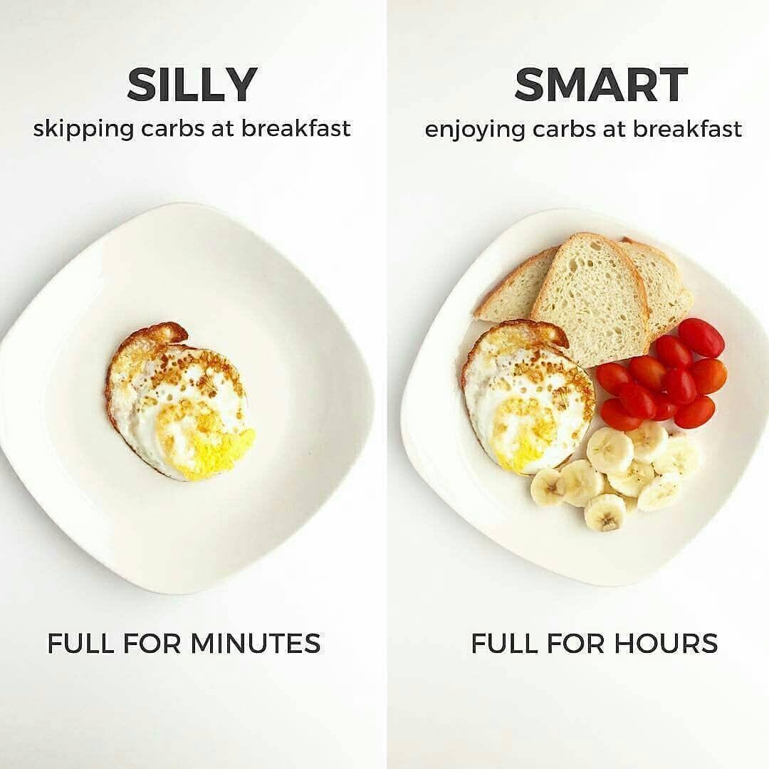 Silly Vs Smart Swipe See Below 6 Smart Ideas To Help You Reach Your Health Goals 1breakfast Weightl Healthy Snacks Easy Workout Food Healty Food