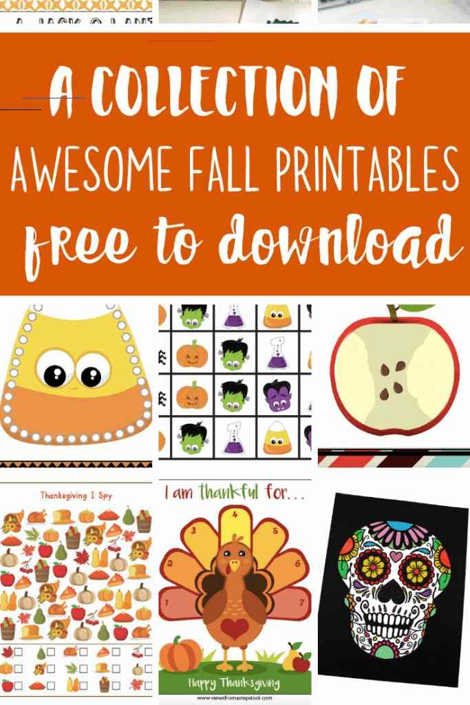 Printable Thanksgiving Placemat for Preschoolers and ...