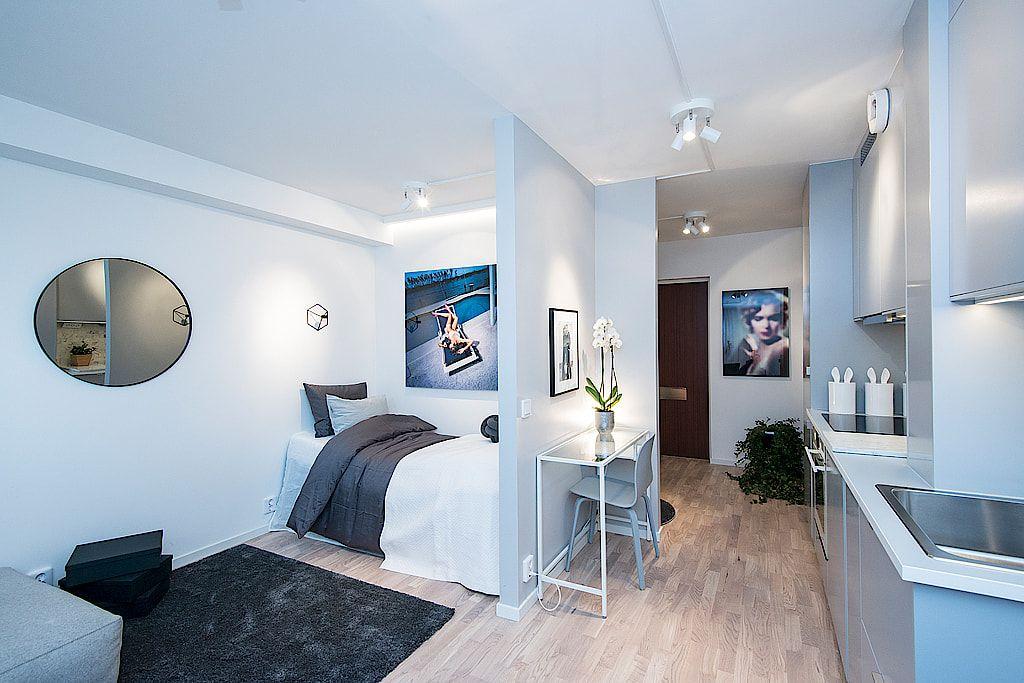 Un Studio En Couleur Pastel Petites Chambres D Appartement