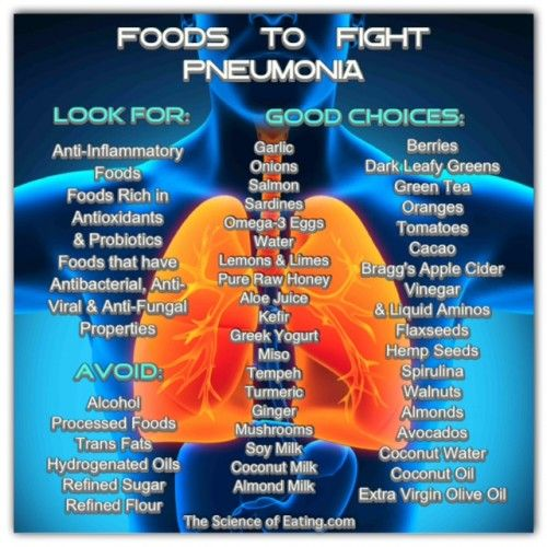 Foods To Fight Pneumonia Fitness Clean Eating Motivation