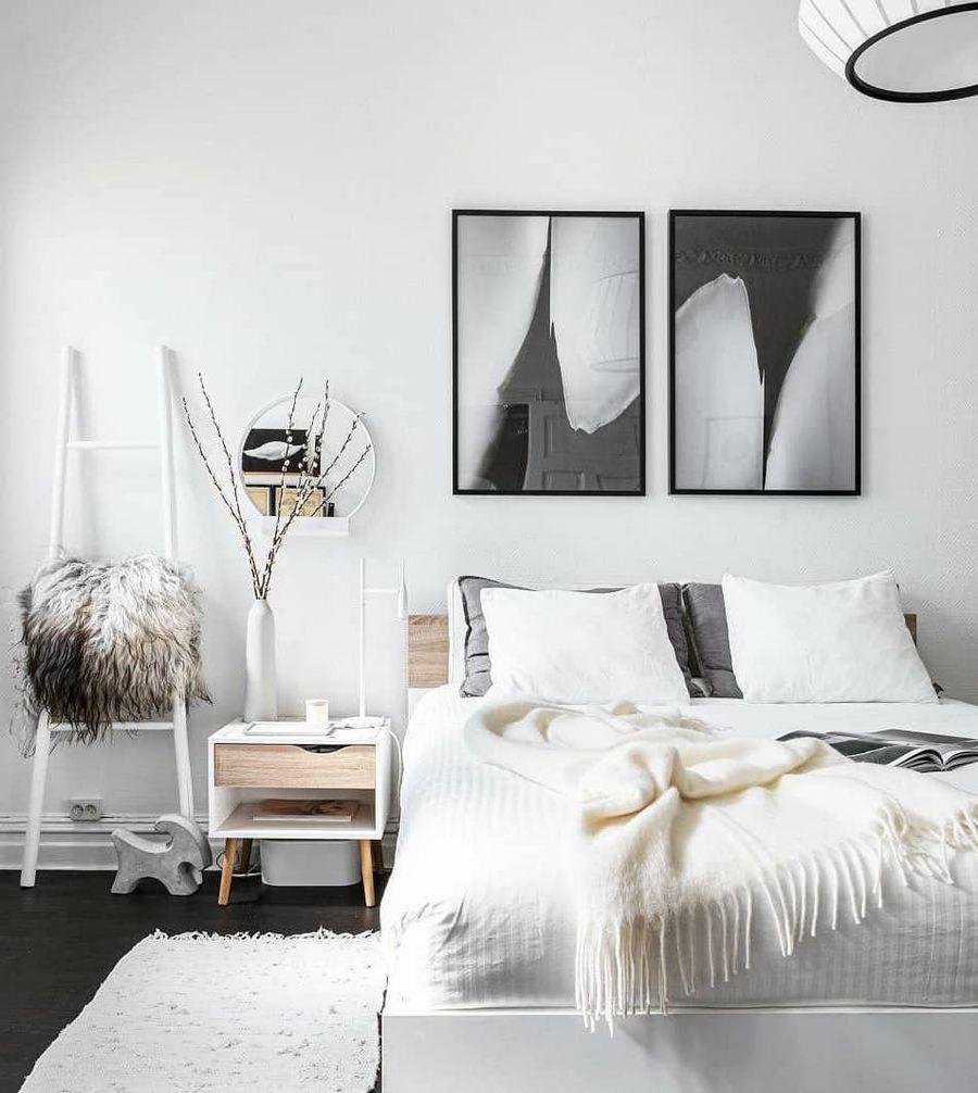 30 Best Bedroom Decor Ideas With Scandinavian Style Bedroom Bedroomdecor Be Scandinavian Style Bedroom Scandinavian Bedroom Decor Apartment Bedroom Design