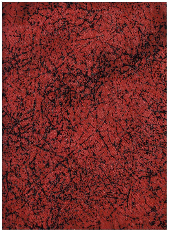 Fat Quarter, RD2424FQ, 100% Cotton Fabric, Red, Black, Crackle Paint