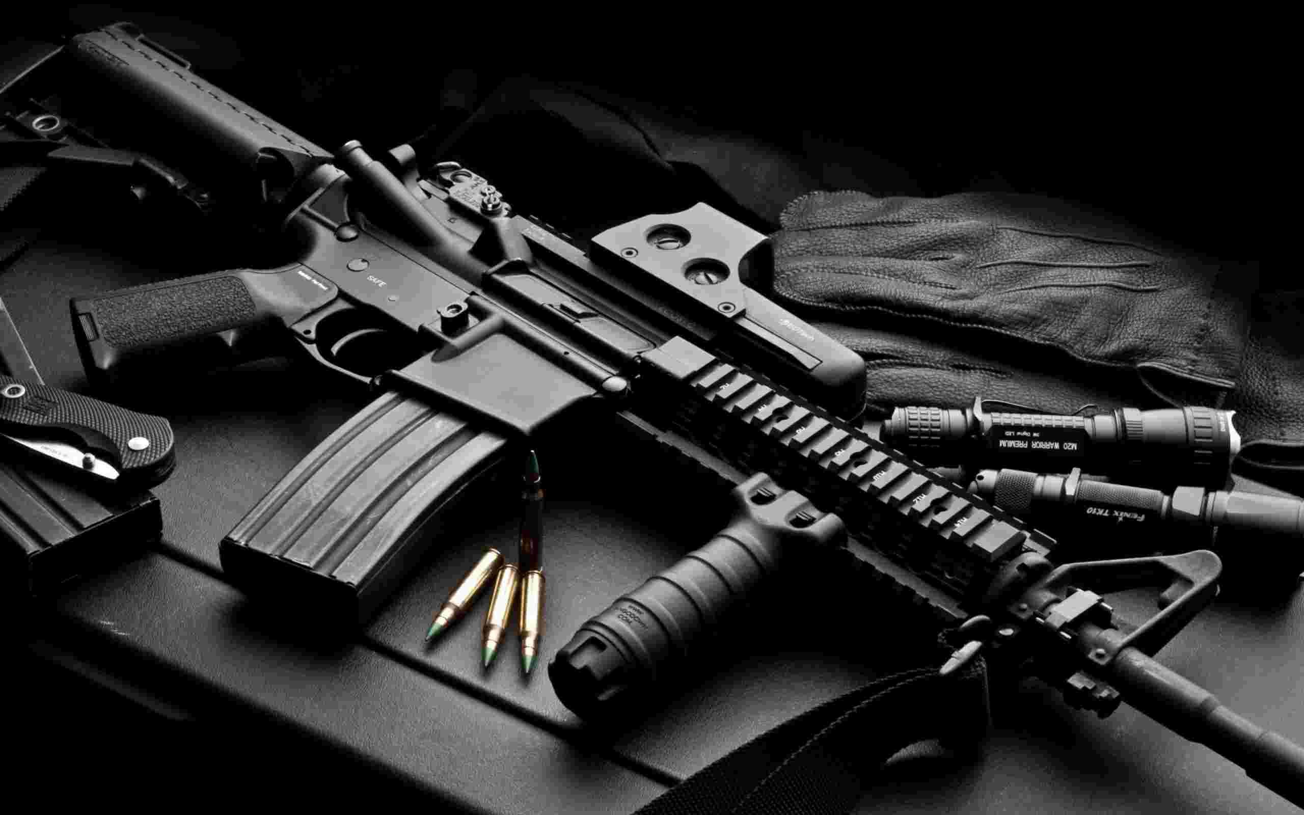 108 Best Images About Weapons Wallpapers On Pinterest: M4A1 Carbine Wallpaper HD