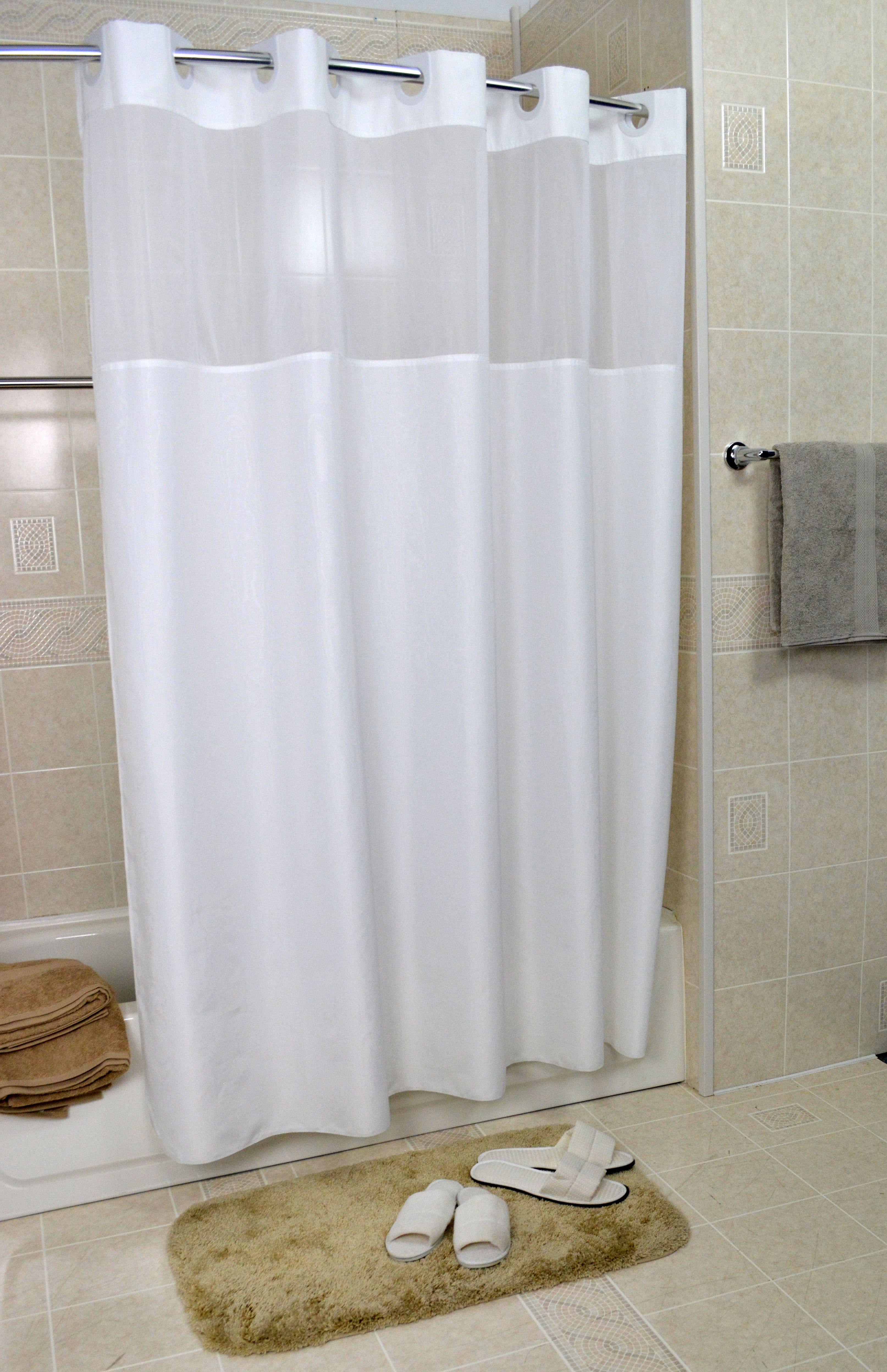 13 Suggestions How To Hang Shower Curtain Should Be Dengan Gambar