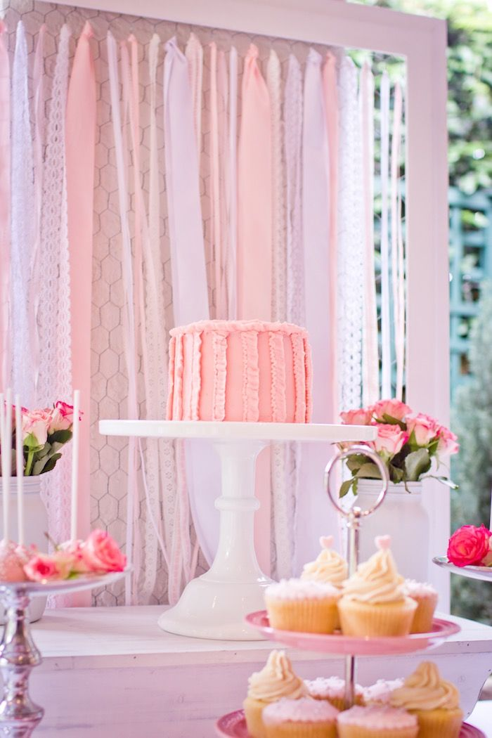 Pink Ribbon Tea Party via Kara's Party Ideas KarasPartyIdeas.com The Place for All Things Party! #pinkribbon #cancerawareness #pinkribbonteaparty #pinkteaparty #pinkribbonparty #cancerribbon (26)