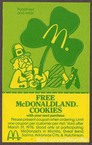 45 Classy Examples of Vintage Coupon Designs St Pattys day