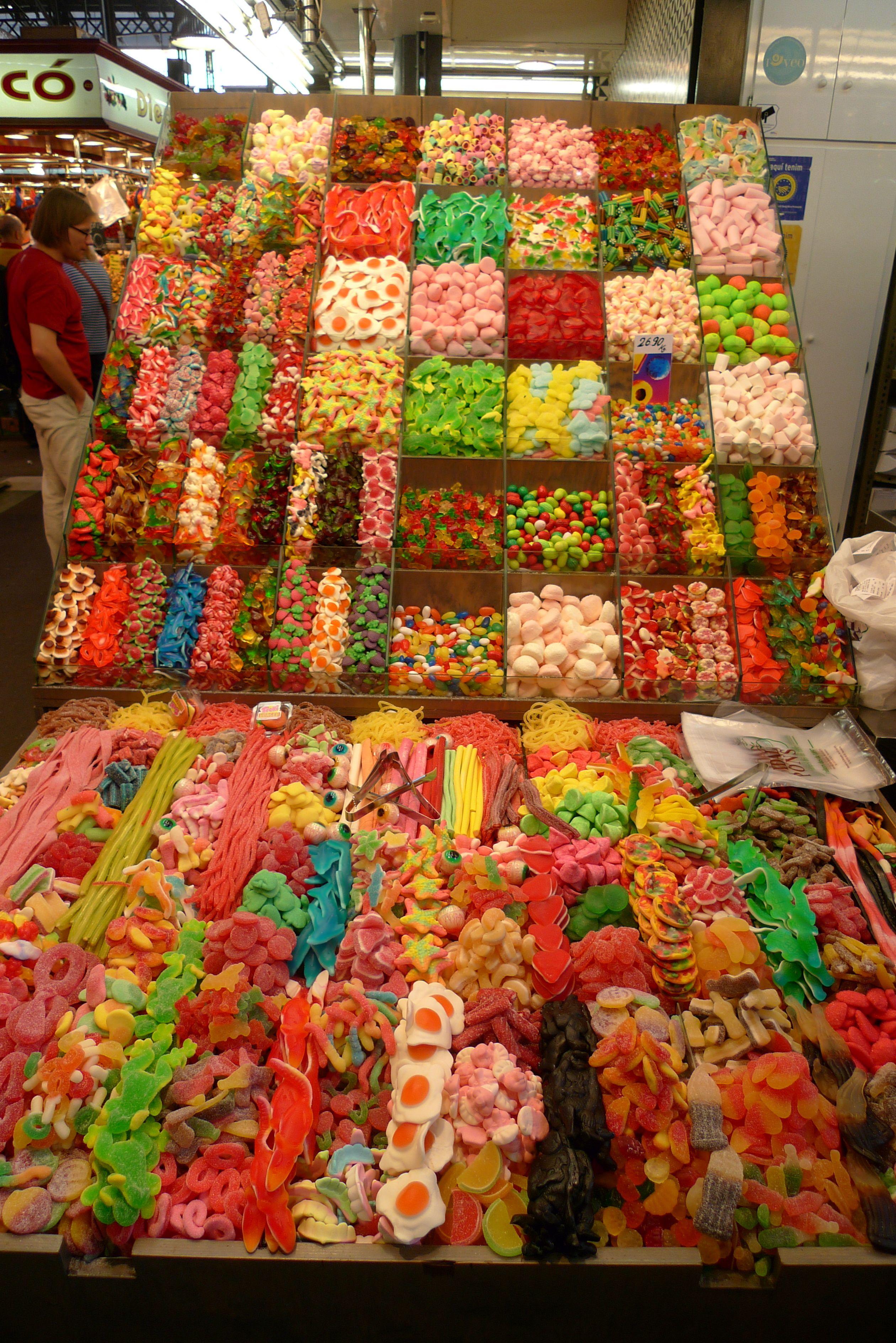 Barcelona, Mercado, Ramblas, Süssigkeiten | Eat & Drink | Pinterest ...
