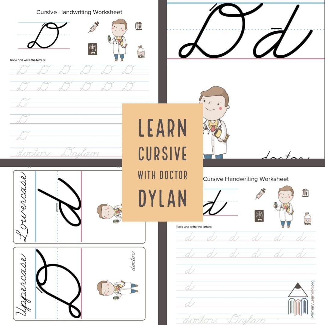 Free Cursive Worksheets Teacher